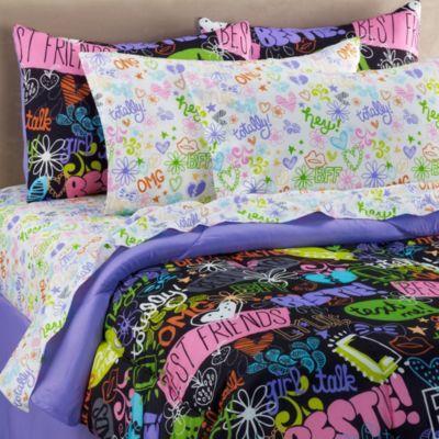 Whateva 6-8 Piece Comforter and Sheet Set - BedBathandBeyond.com: