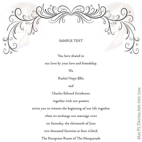 ... retro invitation cards diy and crafts decoration invitations bridal