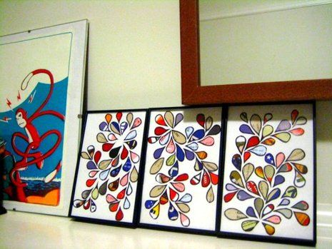 How to turn junk mail into art. » Curbly | DIY Design Community