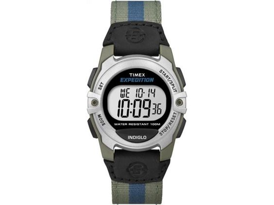Timex Unisex Expedition | Digital Core Green Case & Nylon Strap | T49958  Sale $25.99
