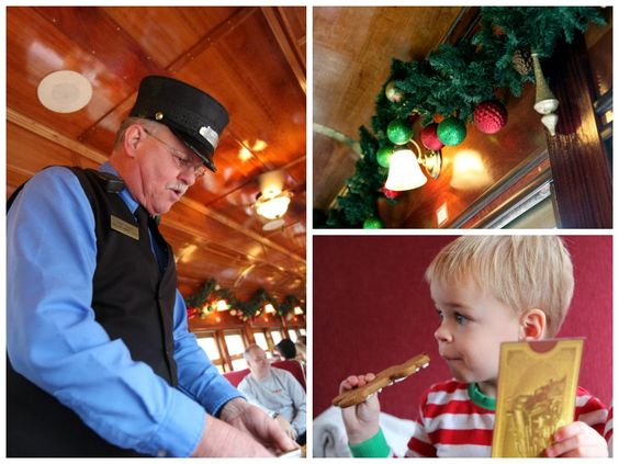The Polar Express Great Smoky Mountain Railroad In Bryson City With Images Polar Express Bryson City Great Smoky Mountains
