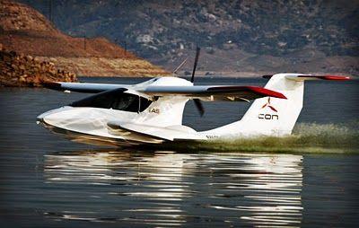The Icon A5 - ultralight amphibious aircraft.