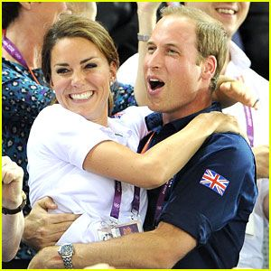 I dont think you can be any cuter. Duchess Kate & Prince William Celebrate Great Britain's Cycling Win at the Olympics!