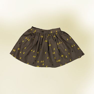 awesome skirt with little giraffes by zialee