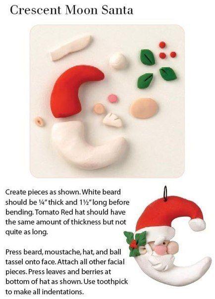 Полимерная глина и Новый Год. МК — Создаем новогоднее настроение!