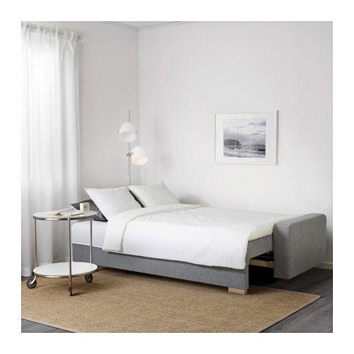 Divano Letto Con Letto Estraibile Ikea.Gralviken Divano Letto A 3 Posti Grigio Ikea Living Room
