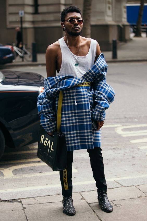 Street Style Shots: London Fashion Week Men's Day 1