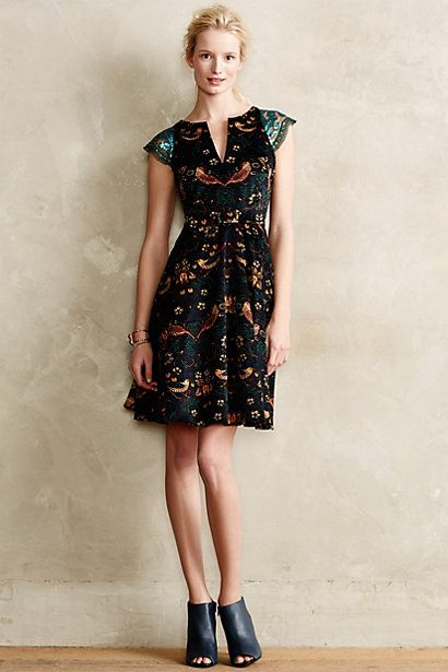 Larksong Corduroy Dress by Eva Franco - $188 - anthropologie.com. lovely model