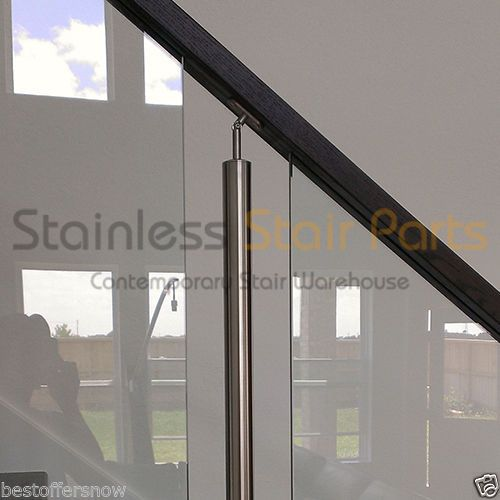 Stainless Steel Stair Parts Modern Glass   Rods U0026 Cable Railing Systems    Living   Pinterest   Cable Railing Systems, Steel Stairs And Modern Glass