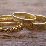 Indian Gold Wedding Bands