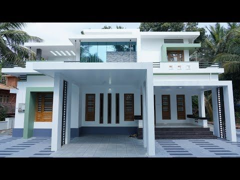 Brand New Low Budget Double Storey House With Superb Interior Video Tour Youtube Double Storey House One Storey House Double Storey House Plans