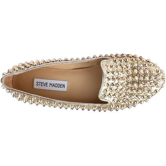 Steve Madden Studlyy ($70) found on Polyvore... I love!  Dress up, dress down.