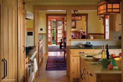 Craftsman Style Designed Kitchen Darling-Wright Residence - traditional - kitchen - los angeles - HartmanBaldwin Design/Build