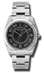 116000 bkwao Rolex Oyster Perpetual Date No-Large 36mm Cupulas Bisel