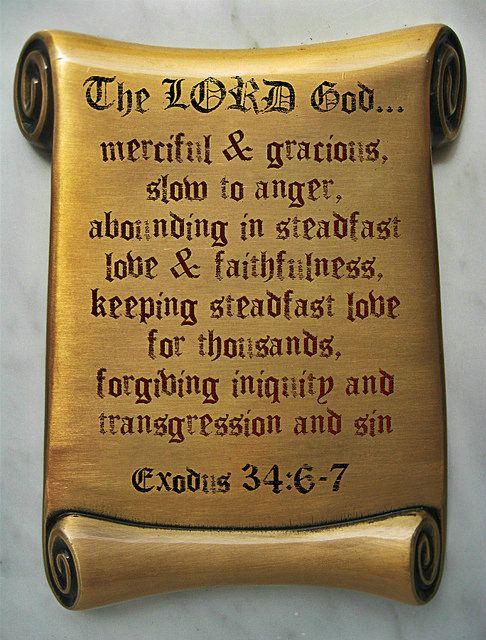 Exodus 34:6-7 | Flickr - Photo Sharing!