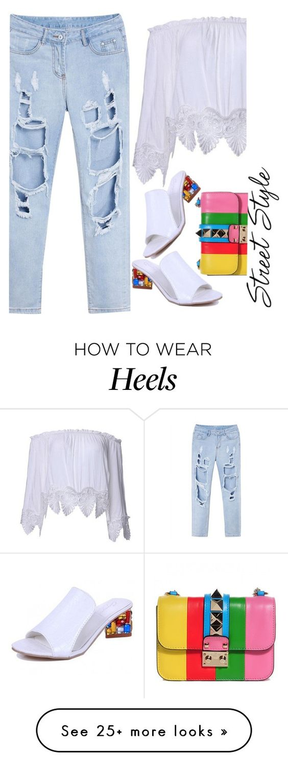 """street style with newchic.com"" by ecem1 on Polyvore"