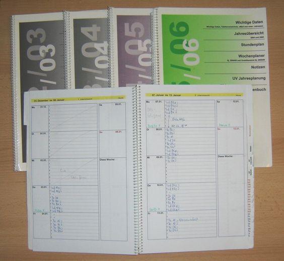So sieht der Kalender im Unterricht aus...