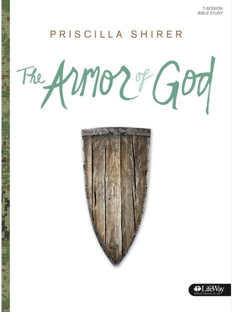 """List of """"Who You are in Christ"""" from Armor of God Bible Study by Priscilla Shirer"""