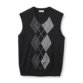 Dockers Men's Sweater Vest - Argyle