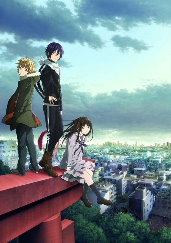 Noragami - Yukine, Yato, and Hiyori #anime #manga