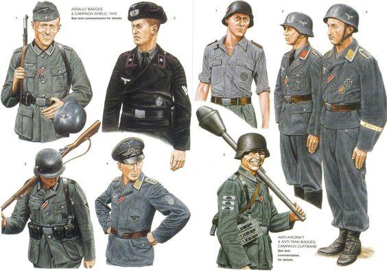 WWII UNIFORMS 9 by FVSJ