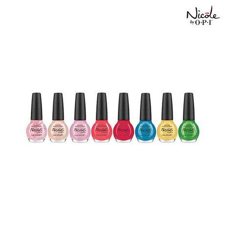 5-Pack: O.P.I. Nicole Nail Polish Mystery Selection