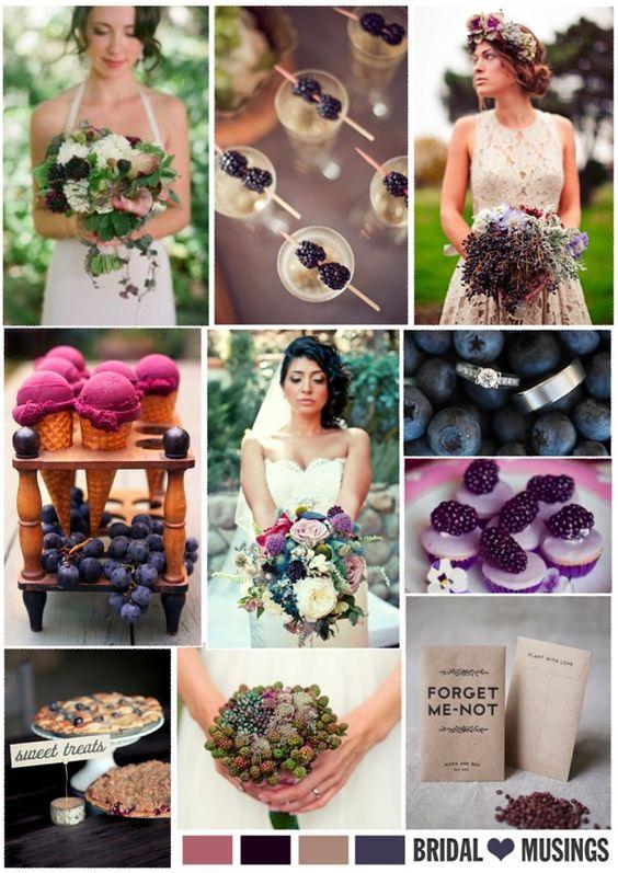 Blackberries and Wildflowers