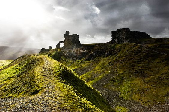 Castell Dinas Bran (Crow Castle), North Wales