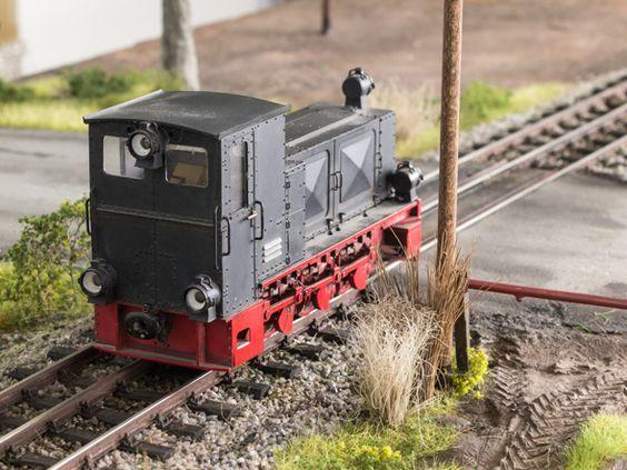 HF 130 C in 13 von Henke Modellbau, Foto: Friedhelm Weidelich