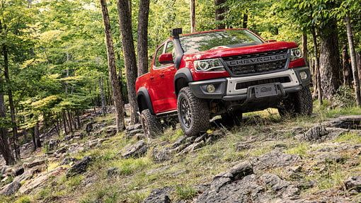Chevrolet Debuts The Zr2 Bison To Tackle Trails And Competitors