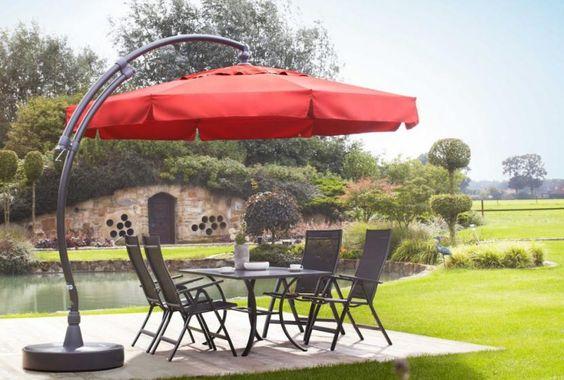 Cómo elegir los parasoles del jardín - http://www.jardineriaon.com/como-elegir-los-parasoles-del-jardin.html #plantas