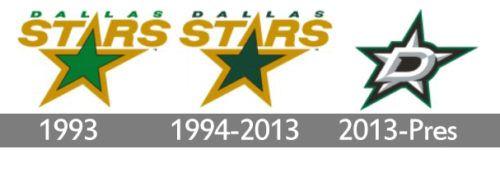 Dallas Stars Logo History Star Logo Dallas Stars Logos