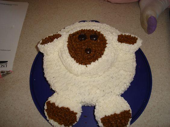 Sheep cake I made