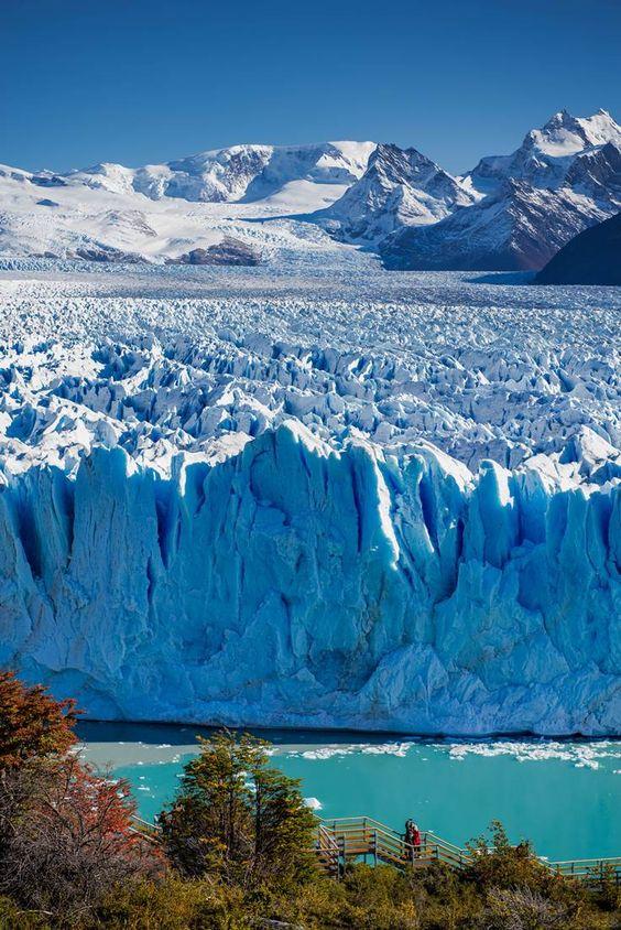 The magical Perito Moreno Glacier