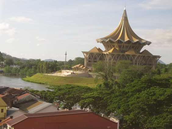 Kuching, Sarawak in Malaysia. I really enjoyed my stay there, part to my friend Adrian who showed me around. The cultural village was very cool but I missed the Orangutang Preserve this time. Next time for sure.: My Friend, Favorite Places, Sarawak My Homeland, Orangutang Preserve, Places Spaces, Friend Adrian