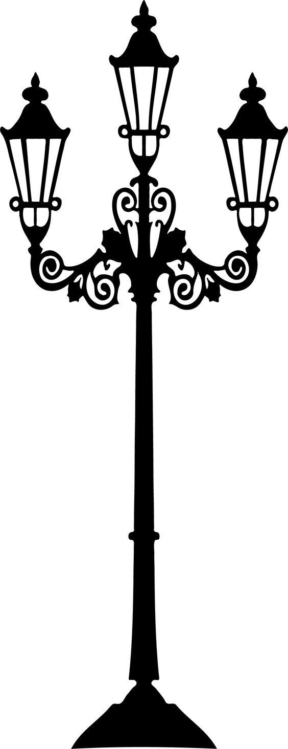 Victorian lamp post: