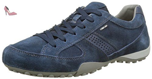 Uomo Snake D, Sneakers Basses Homme, Bleu (Navy), 42 EUGeox