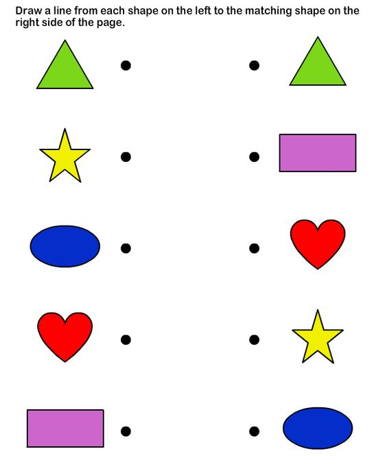 Printables Educational Worksheets For Preschoolers shapes math worksheets preschool educational worksheets