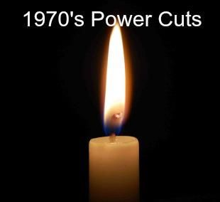Miners strike = not enough coal for the electricity power stations = 3 day working week to save the power = reduced income. Those long dark evenings playing cards by candlelight. Taking the dinner to cook in the neighbours gas oven. Then, the bin men went on strike, then the gravediggers. . . .