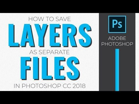 Saving All Your Image Layers As Separate Files Is Incredibly Fast And Easy With Photoshop S Export Layers To Files To Photoshop Separation Digital Scrapbooking