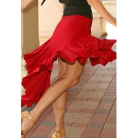 Ha cha-cha for this Tango skirt and tons of flowy swing!