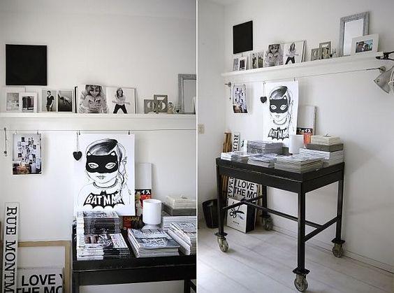 Minimalist and serene blogger apartment in Amsterdam