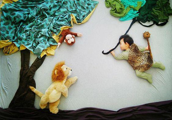 foto criativa de bebê - 5: