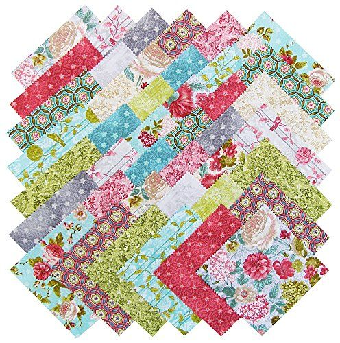 Rag quilt made from these for Sara. (Sara's Birthday present)   Ro Gregg A WALK IN THE PARK Precut 5-inch Charm Pack Cotton Fabric Quilting Squares Assortment Fabri-Quilt Fabri-Quilt http://www.amazon.com/dp/B00RNDRQ0O/ref=cm_sw_r_pi_dp_yerZub1Z3CSN4