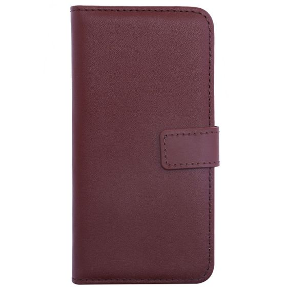 Simple Style Pure Color Leather Wallet Card Slot Full body Case Magnet Clasp Anti-konck Phone Cover for iPhone 7 4.7 inch