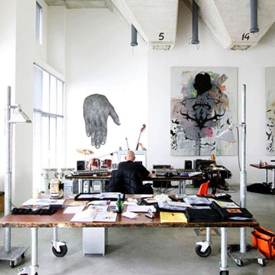 big space !: Workspace, Studiospace