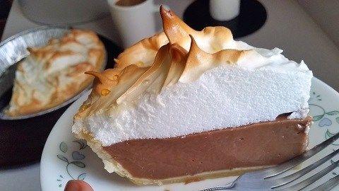 Best Chocolate Pie Recipe With Chef Buck Myfoodchannel Best Chocolate Pie Recipe Chocolate Pie Recipes Chocolate Pies