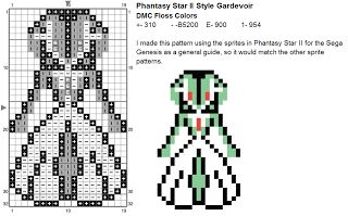 Dork Stitch: Sprite Patterns December Day 21: Even More Pokemon Stuff