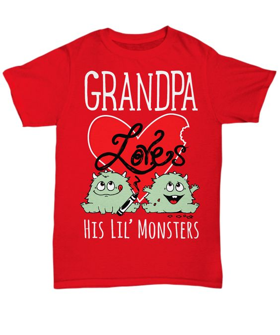 GRANDPA Loves His Lil' Monsters