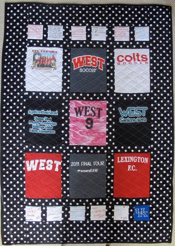 This is the DOWNPAYMENT ONLY on a custom-made T-shirt quilt with up to 6 T-shirts - prices start at $100.00. If you want the quilt to be simple, the